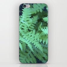 Midnight Ferns iPhone & iPod Skin