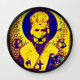 Saint Nicholas, The Ultraviolet Bishop Wall Clock