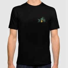 Plantation Mens Fitted Tee Black LARGE