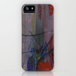 Purple Gush iPhone Case