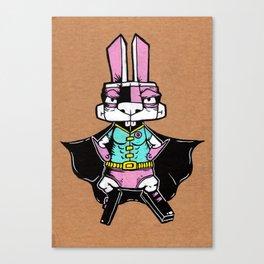 Wonder Bunny Canvas Print