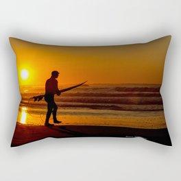 Seize the Morning Rectangular Pillow
