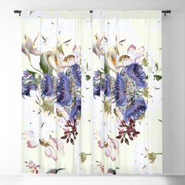 Morning field. Fresh and beauitful Blackout Curtain
