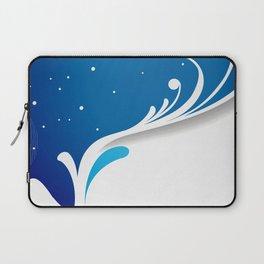 Fairy winter pattern Laptop Sleeve