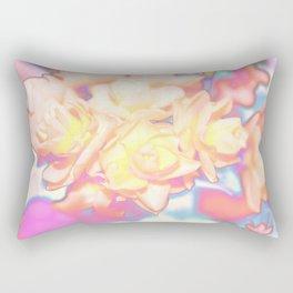 Solarized Electric Daffodils Digital Photograph Rectangular Pillow