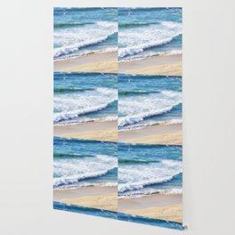 CALIFORNIA COAST - PACIFIC OCEAN BLUE Wallpaper