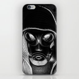 The Man Behind The Mask iPhone Skin