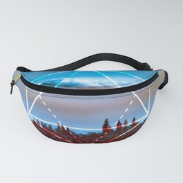 The Elements Geometric Nature Element of Air Fanny Pack