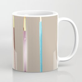 Paint brushes  Coffee Mug