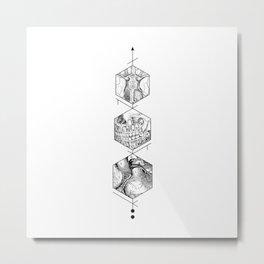 Slice of Life Metal Print