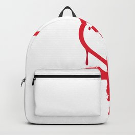 Love And Rage Emo Or Teenager Gift Backpack