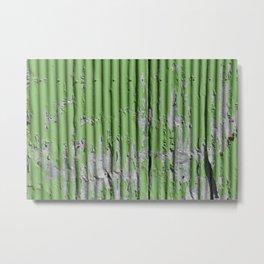 Urban green Metal Print