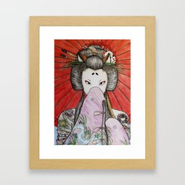 Kuzunoha Framed Art Print
