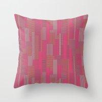 metropolis Throw Pillows featuring Metropolis by Kimsa