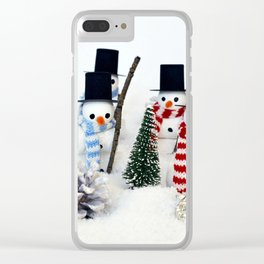 Christmas magic 8. Clear iPhone Case