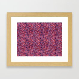Patriotic Camo Framed Art Print