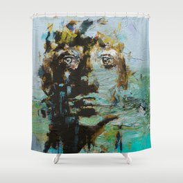 The Human Race 5 Shower Curtain