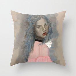 Classic Beauty Throw Pillow