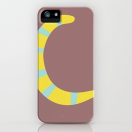 Mix And Match Fall Letter Set iPhone Case