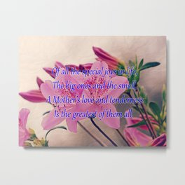Mothers Day - Special Joy Metal Print