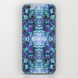 Abstract Floral Burst iPhone Skin