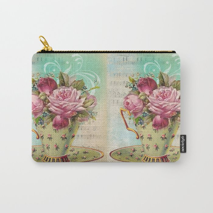 Tea flowers #6 Carry-All Pouch
