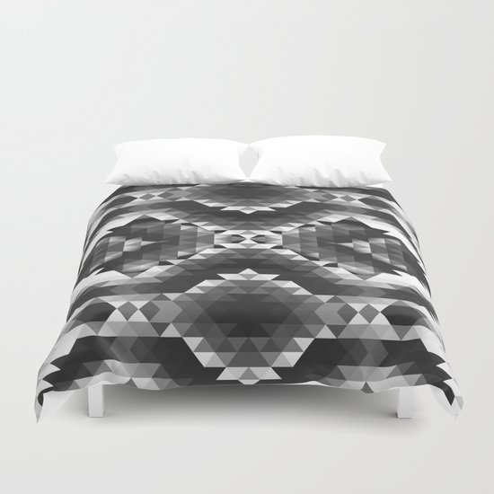 SHINE ON YOU BLACK DIAMOND Duvet Cover