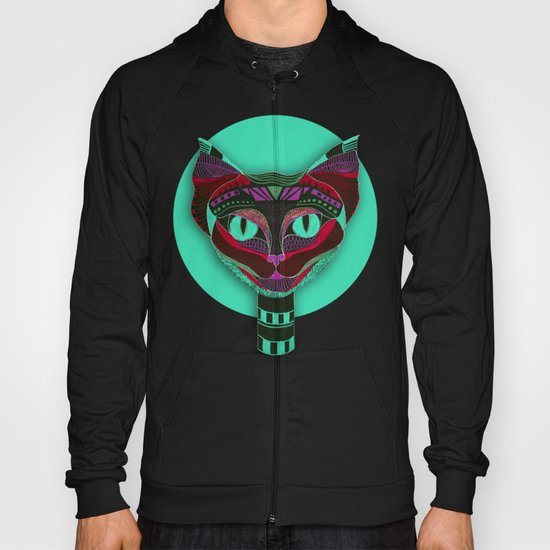 Black CAT- Black Hoody