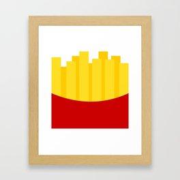 Fries Framed Art Print