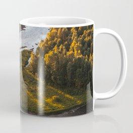 Nordic Forest River Coffee Mug