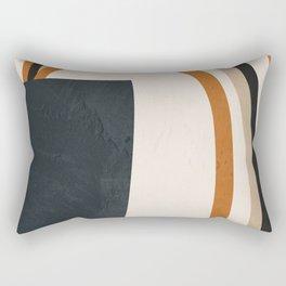 Abstract Art  Rainbow Rectangular Pillow