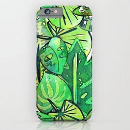 Bohemian Jungle iPhone Case