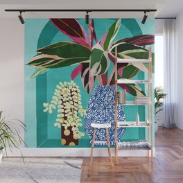 You Can't Buy Happiness But You Can Buy Plants & That's Pretty Much The Same Thing #painting Wall Mural