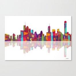 Brisbane Skyline 1 Canvas Print