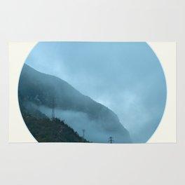 Blue Misty Mountains Rug
