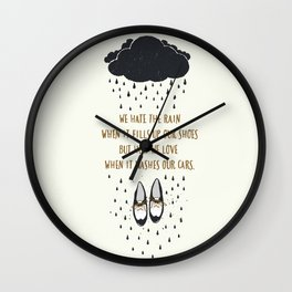 How We Love - Ingrid Michaelson Wall Clock