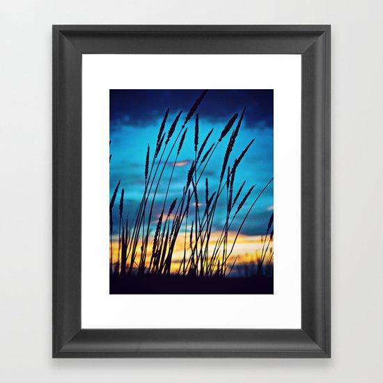 Western Sky Framed Art Print