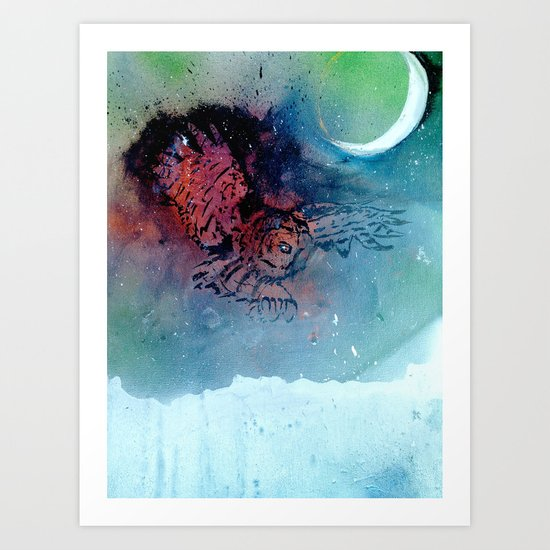 Of the Night Art Print