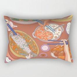 An Asian Feast Rectangular Pillow