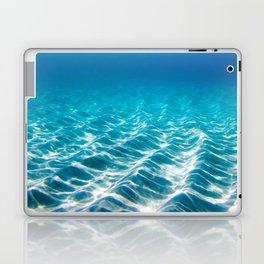 Aqua Blue Bliss Laptop & iPad Skin