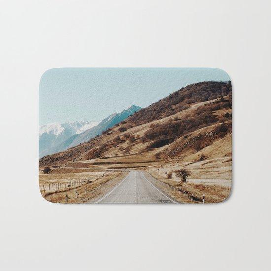 mountain road Bath Mat