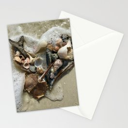 Lover's Key Shells Stationery Cards