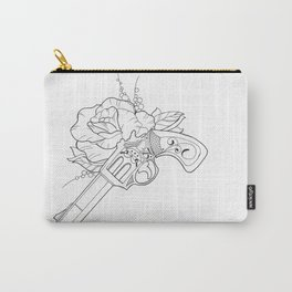 Gun n Rose Carry-All Pouch