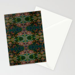 Raspberry Blossom- Colorful Bohemian Stationery Cards
