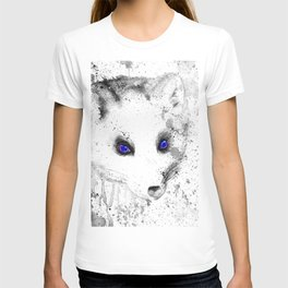 black and white : polar fox T-shirt