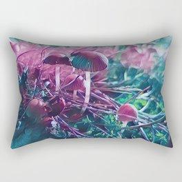 Magic Shrooms Rectangular Pillow