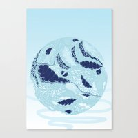 globe Canvas Prints featuring Globe by Jamie Bryan