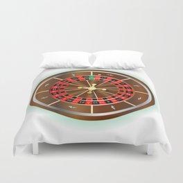 Roulette Wheel Duvet Cover