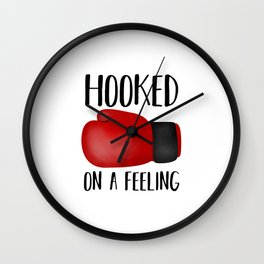 Hooked On A Feeling | Boxing Glove Wall Clock