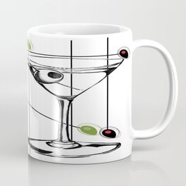 Mid-Century Modern Art Atomic Cocktail 3.0 Coffee Mug